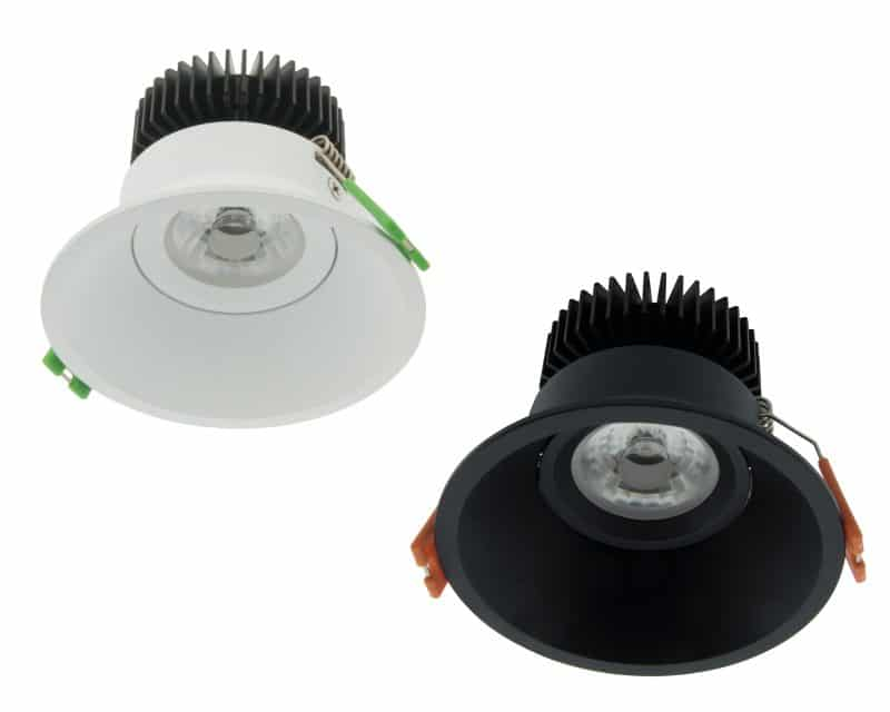 LED Downlight 95 with 36° Beam Angle - IP43 | CRI/RA 97 (Swivelling)
