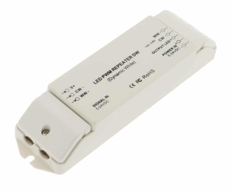LED PWM Repeater DW (Dynamic White)