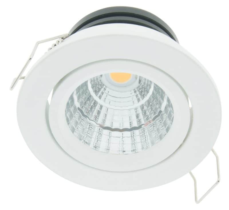 LED Downlight 50 – IP43 | CRI/RA 90+ (Schwenkbar)