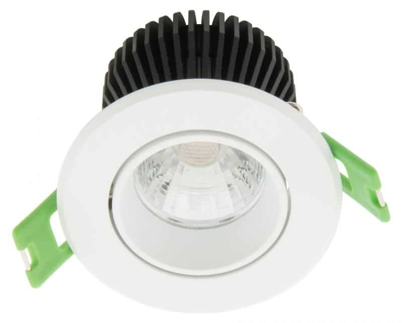 LED Downlight 60 – IP43 | CRI/RA 90+ (Schwenkbar)