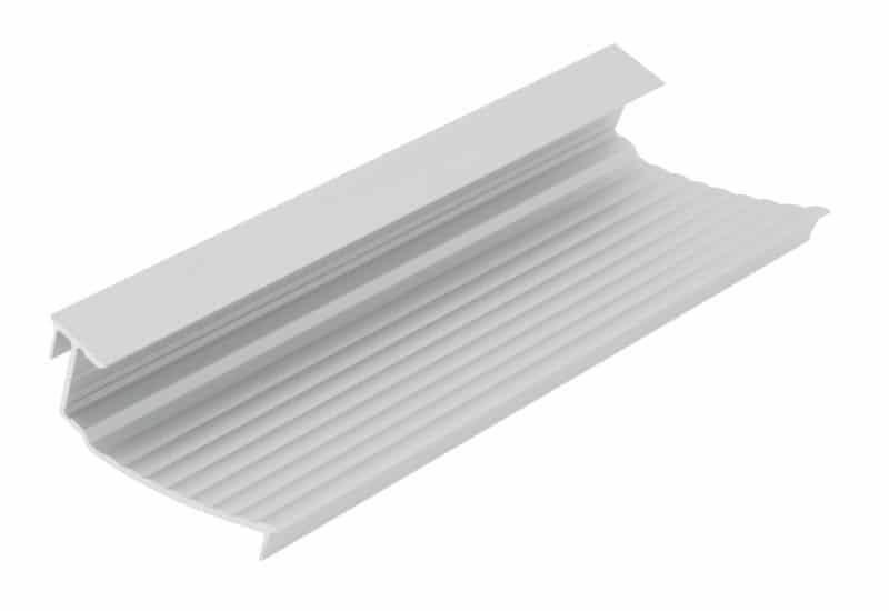 LED Wallwasher Einsatz SLW geriffelt (passend für alle SL Profile)