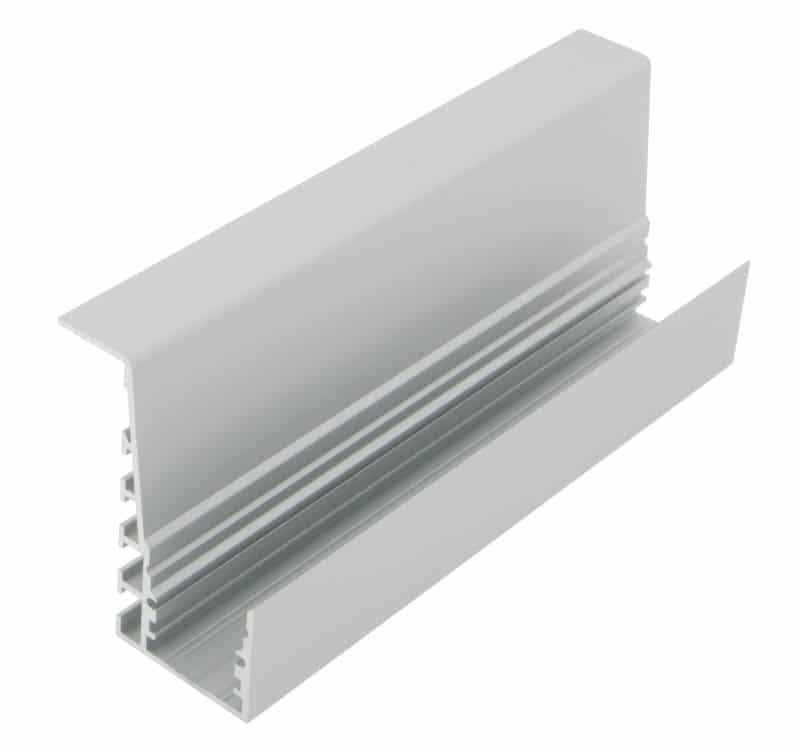 LED Profil TBP<br>46 mm x 60 mm Handlaufprofil