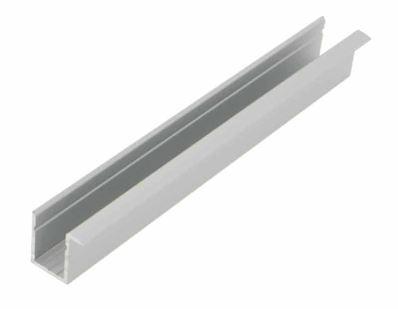LED Profil KLT<br>14 mm x 17 mm Einbau