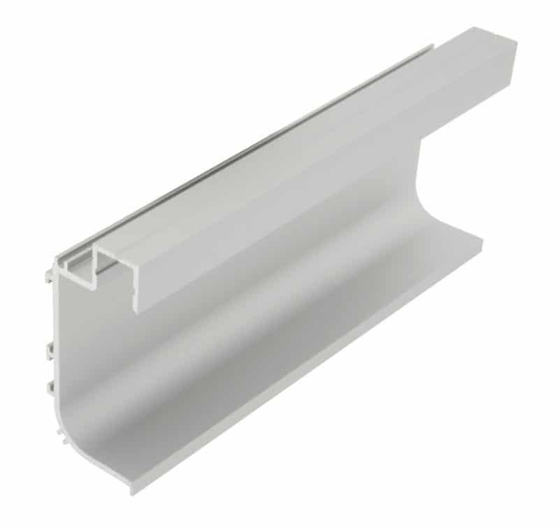 LED Profil KLL<br>29 mm x 64 mm Griffmuldenprofil