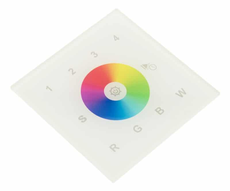 LED DALI Controller Touch RGBW DT8 - 4 Zonen (Groups)