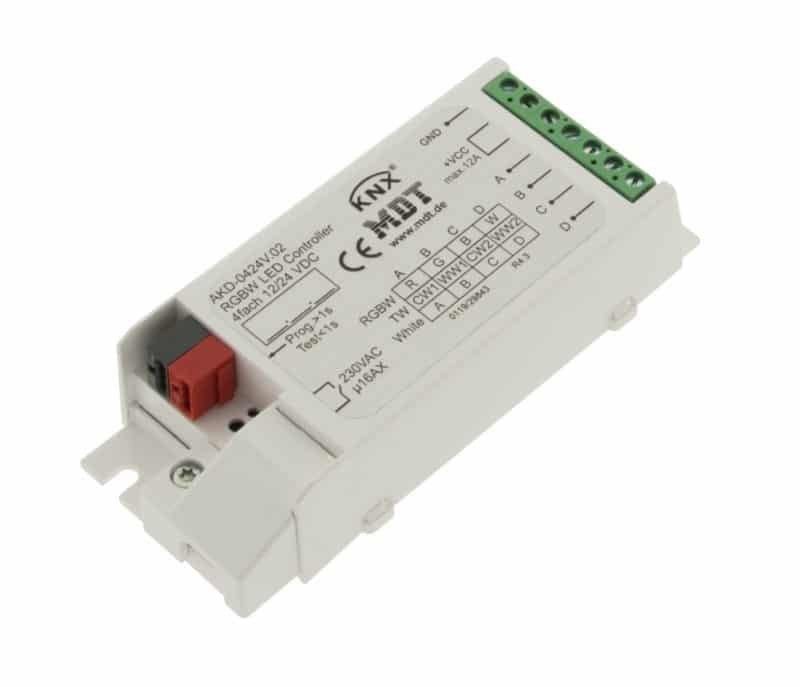 LED KNX Dimmer 4 Channel (Mono, TW, RGB, RGBW)